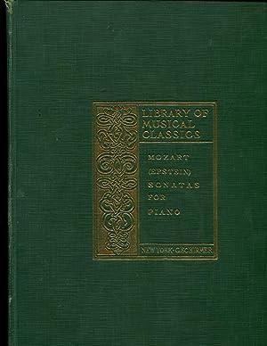 Schirmer's Library of Musical Classics: Vols. 1304, 1305, 1306: Wolfgang Amadeus Mozart: ...