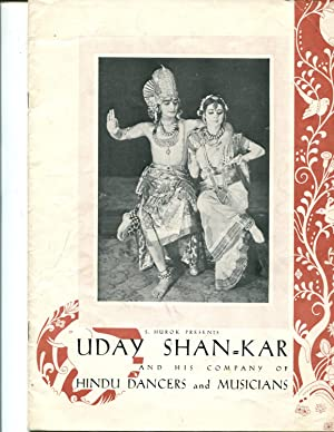 Uday ShanKar and His Company of Hindu Dancers and Musicians: S. Hurok