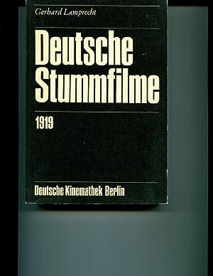 DEUTSCHE STUMMFILME 1919: Gerhard Lamprecht
