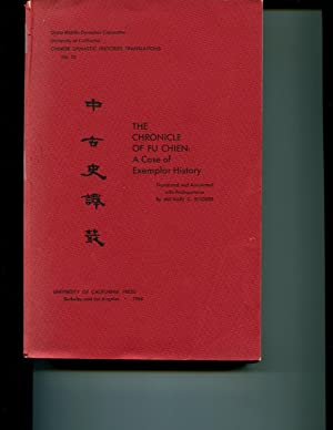 Biography of Huang Ch'ao ( Chinese dynastic histories translations No. 5 - Institute of East ...