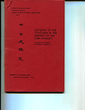 Account of the Tu-Yu-Hun in the History of the Chin Dynasty: Carroll, Thomas D.