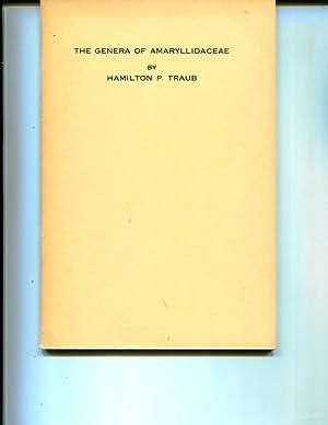 The Genera of Amaryllidaceae: Traub, Hamilton P.