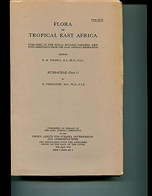 Rubiaceae (Flora of tropical East Africa): Verdcourt, B