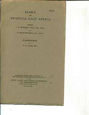 Flora of Tropical East Africa: Fumeriaceae (1962): Hubbard, C.E.; Milne-Redhead, E.