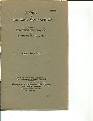 Flora of Tropical East Africa: Gymnospermae (1958): Turrill, W.B.; Milne-Redhead, E.