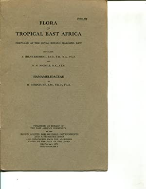 Flora of Tropical East Africa: Hamamelidaceae (1971): B. Verdcourt