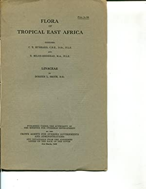 Flora of Tropical East Africa: Linaceae (1966): Doreen L. Smith