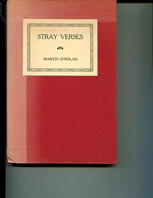 Stray Verses: O'Nolan, Martin