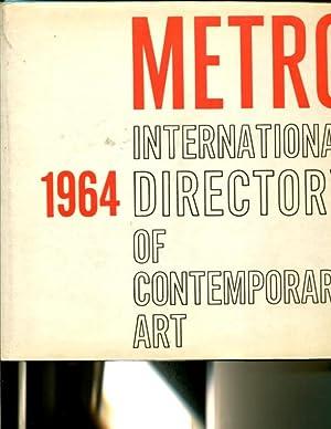 Metro International Directory of Contemporary Art; Catalogue International de l'Art ...