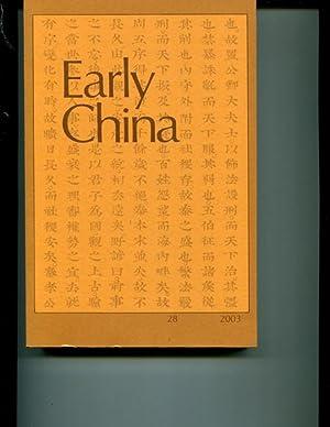 Early China, #28: Various