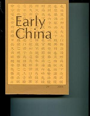 Early China, #29: Various
