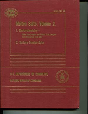 Molten Salts: Volume 2 Section 1: Electrochemistry of Molten Salts: Gibbs Free Energies and Excess ...