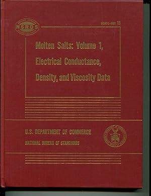 Molten Salts: Volume 1, Electrical Conductance, Density,: G.J. Janz, F.W.