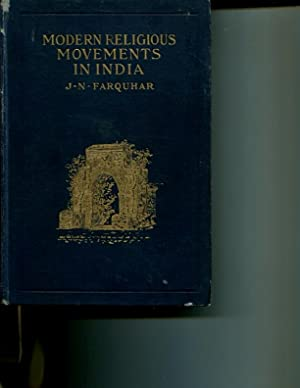 Modern Religious Movements in India: J.N. Farquhar