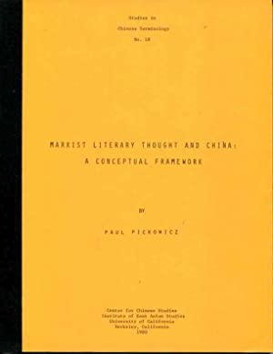 Marxist Literary Thought and China: A Conceptual Framework (Studies in Chinese terminology): Paul ...