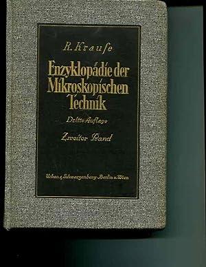 Enzyklopadie der mikroskopischen Technik mit besoderer Bercksichtigung der farbelehre; Band II. ...