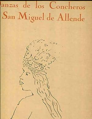 Danzas de los Concheros en San Miguel de Allende: Fernandez, J.& Mendoza,V.; Antonio R. Luna, illus...