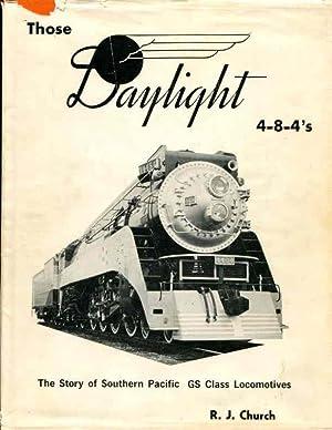 Those Daylight 4-8-4's: Church, Robert J.