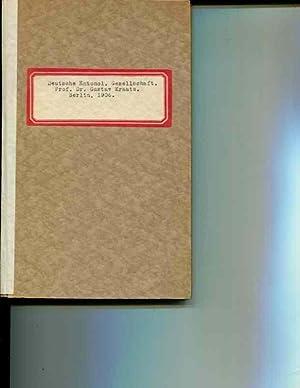 Deutschen Entomologischen Gesellschaft: Prof. Dr. Gustav Kraatz