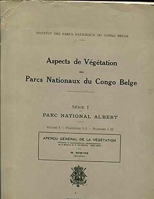Aspects de Vegetation des Parcs Nationaux du: W. Robyns