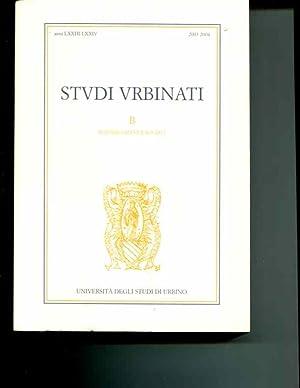 Studi urbinati. Rivista annuale di scienze umane e sociali (2003-2004): Renato Raffaelli (editor)