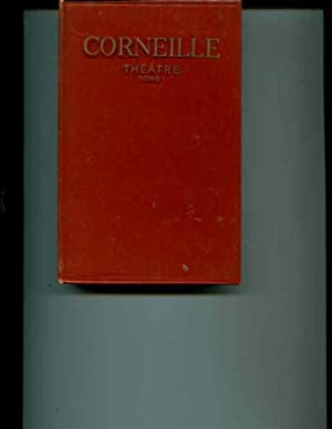 Corneille Theatre Tome 1 (One): Corneille, Pierre
