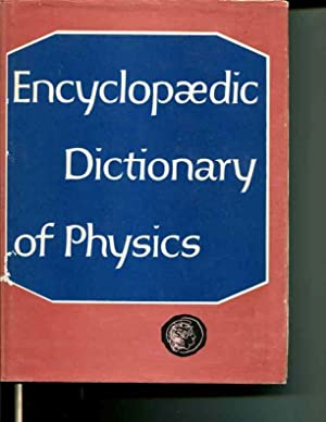 Encyclopaedic Dictionary of Physics Volume 5, Neu-Rad: J. Thewlis; R.C. Glass; D.J. Hughes; A.R. ...