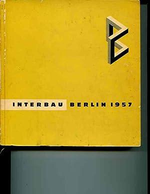 Interbau Berlin 1957: Ewald Weitz; Jürgen Friedenberg; Theodor Heuss; Konrad Adenauer