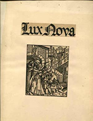 Lux Nova: Some Literary Contibutions to the English Reformation: Roth, Henry William
