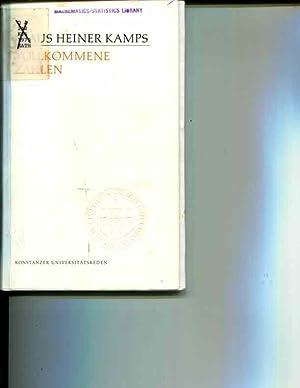 Vollkommene Zahlen (Konstanzer Universitatsreden ; 79) (German Edition): Kamps, Klaus Heiner