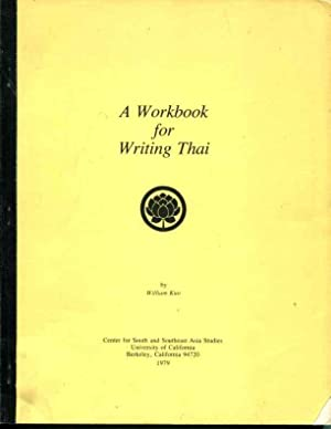 A Workbook for Writing Thai: William Kuo