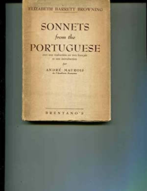 Sonnets From the Portuguese: Browning, Elizabeth Barrett;