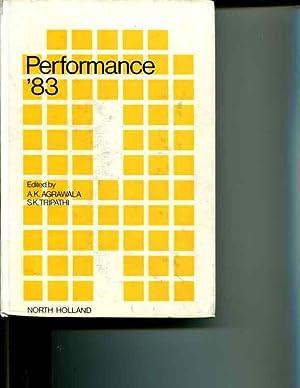 Performance '83: Proceedings 9th International Symposium on Computer Performance Modelling, ...