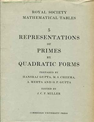 Representations of Primes by Quadratic Form: Displaying Solutions of the Diophantine Equation: Part...