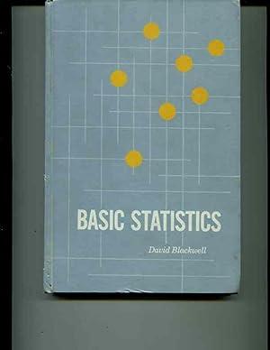 Basic Statistics: Blackwell, David