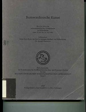 Bernwardinische Kunst: Bericht uber ein wissenschaftliches Symposium in Hildesheim vom 10.10. bis ...