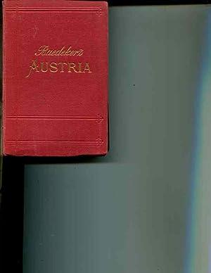 Austria, Including Hungary, Transylvania, Dalmatia and Bosnia: Handbook for Travellers (Ninth ...