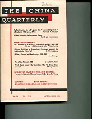 The China Quarterly: No. 26, April-June, 1966: Roderick MacFarquhar (editor)