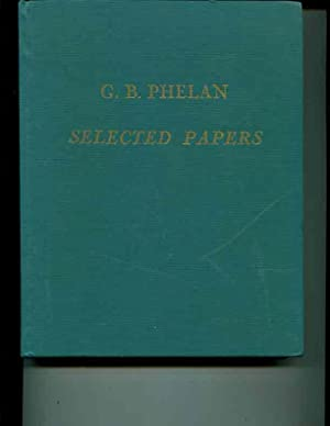 G.B. Phelan: Selected Papers: A.G. Kirn