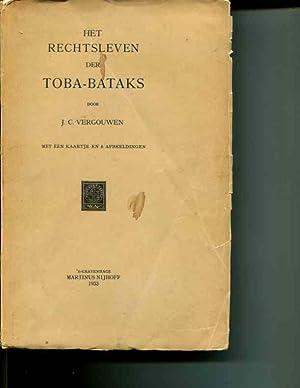 Het Rechtsleven der Toba-Bataks: J.C. Vergouwen