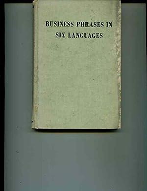 Business Phrases in Six Languages: de Levie, Dagobert