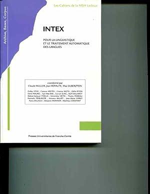 intex. pour la linguistique et le traitement automatique des langues: Claude Muller
