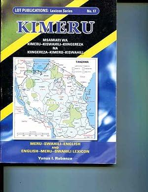 Kimeru: Msamiati wa Kimeru-Kiswahili-Kiingereza na Kiingereza-Kimeru-Kiswahili / ...