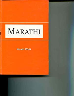 Marathi ; A Study in Comparative South