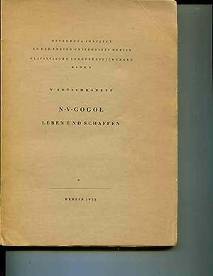 N. V. Gogol: Leben und Schaffen: Setschkareff, V.