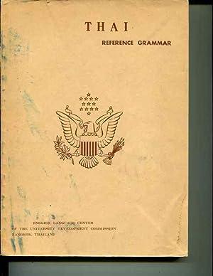 Thai Reference Grammar: Richard B. Noss