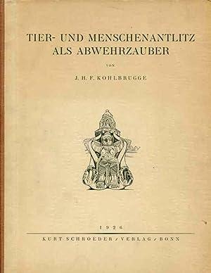 Tier- und Menschenantlitz als Abwehrzauber: J.H.F. Kohlbrugge
