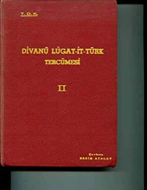 divanu lugat-it-turk tercumesi. Volume II (only): Mahmud Kashgari, active 11th century; Besim ...