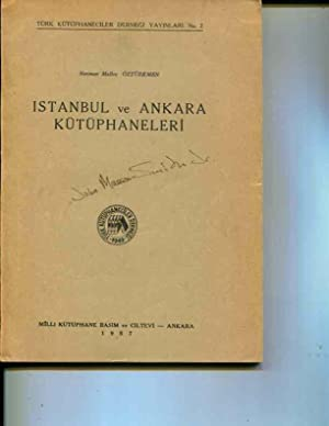 Istanbul ve Ankara kutuphaneleri: Ozturkmen, Neriman Malkoc