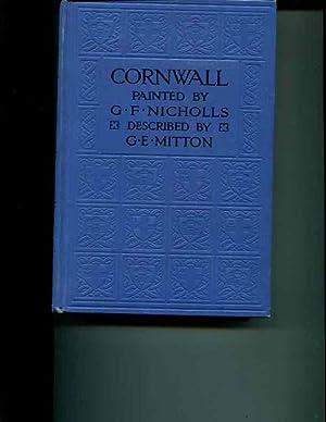 CORNWALL WATER- COLOURS: G. F. NICHOLLS